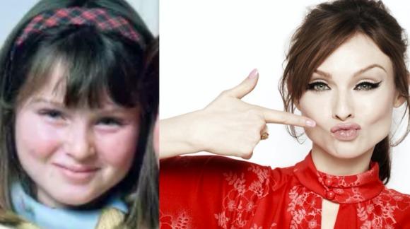 young Sophie Ellis Bextor