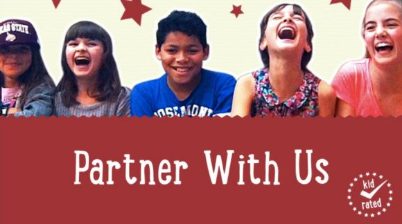 partner with us children laughing kidrated
