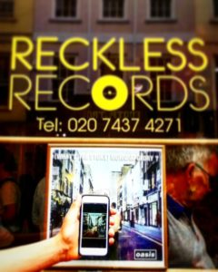 Reckless Records in Soho's Berwick St in Kidrated's 50 great things to do with teenagers in London