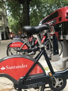 Boris bike or Santander Cycle? Who cares just rent one and have a laugh: 50 Things for Teens To do in London