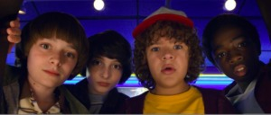 The teenage kids of Stranger Things in Kidrated's 50 great things to do with teenagers in London