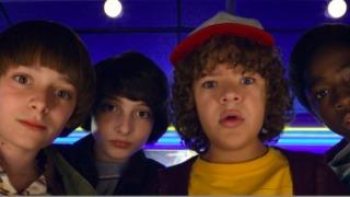 The teenage kids of Stranger Things