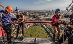 Abseil from the arcelormittal as featured in 50 things for teenagers to do in London
