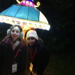 Sofie and Annabel at the Magical Lantern Festival