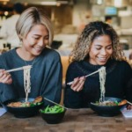 wagamama is japanese inspired food that nourishes and energises