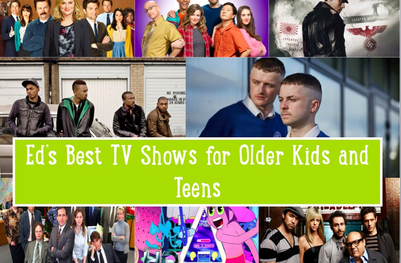 Best TV shows for teenagers and older kids on KidRated