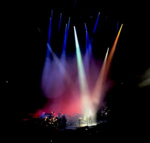 Pink Floyd legend David Gilmour performing at the Royal Albert Hall
