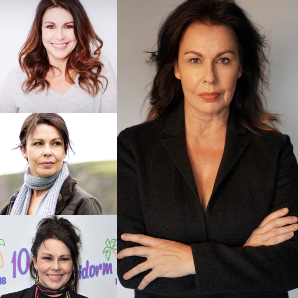 Montage of Julie Graham portraits