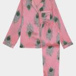 their nibs pink peacock pyjamas