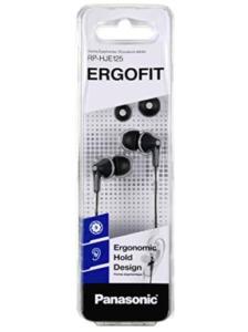 Panasonic RP-HJE125E-K Ergofit In Ear Wired Earphones