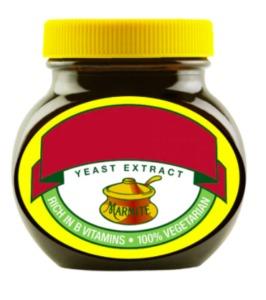 A Personalised Marmite Jar