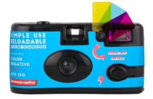 Simple Use Reusable Film Camera Color Negative 400