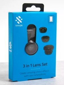 Boxed 3-in-1 Smartphone Camera Lens Set