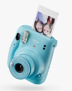 Fujifilm Instax Mini 11 Instant Camera with Built-In Flash & Hand Strap