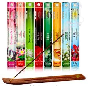 Sandalwood Incense Holder and sticks