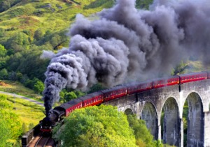 Steam Train - Hogwarts Express