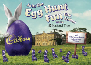 National Trust Easter egg Hunts