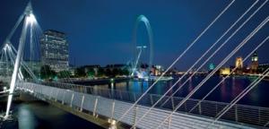 Golden Jubilee Bridge, The River Thames, Southbank